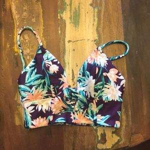 Tori Praver Seafoam bikini top
